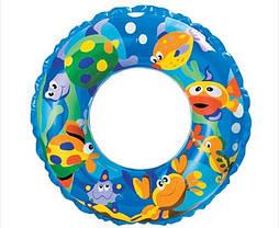 """Детский надувной круг Intex 59242 """"Рыбки"""" (61см), фото 2"""