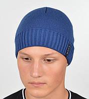 Мужская шапка под джинс