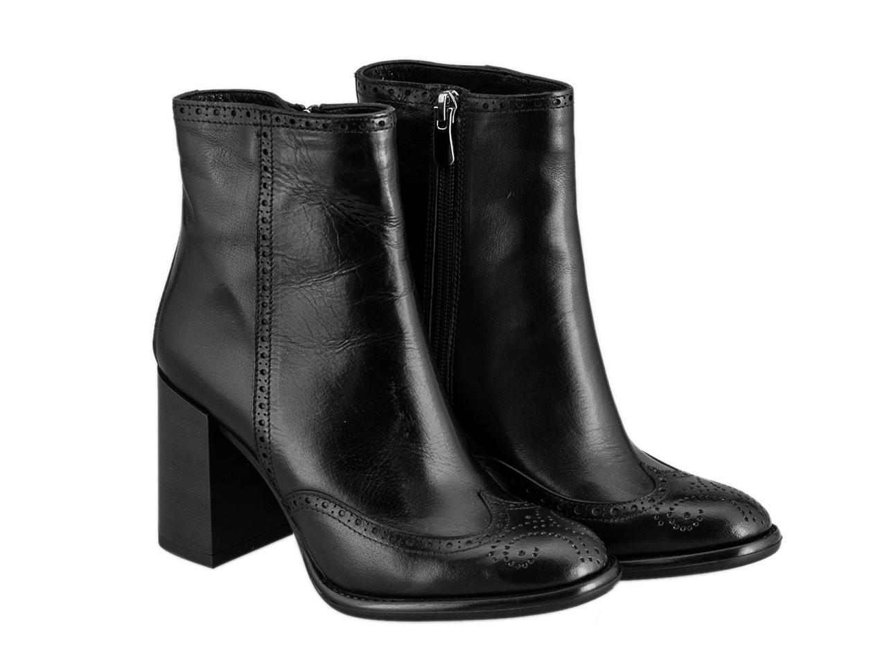 Ботинки Etor 5670-012-1440 39 черные
