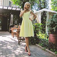 Платье Долли желтое, арт.1013, фото 1