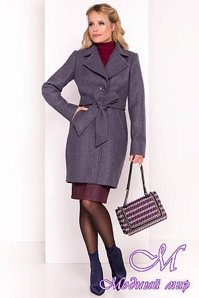 Пальто женское демисезонное (р. S, M, L) арт. Камила 5523 - 37124, фото 2