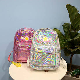 Голографический рюкзак Звезда