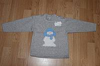 Толстовка детская Снеговик