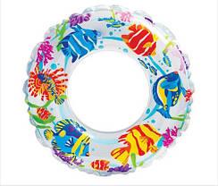 """Детский надувной круг Intex 59242 """"Рыбки"""" (61см), фото 3"""