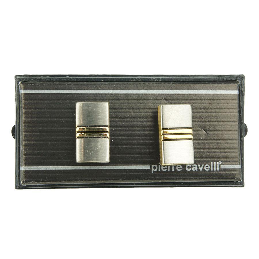 Запонки для чоловіків під золото та срібло 070С
