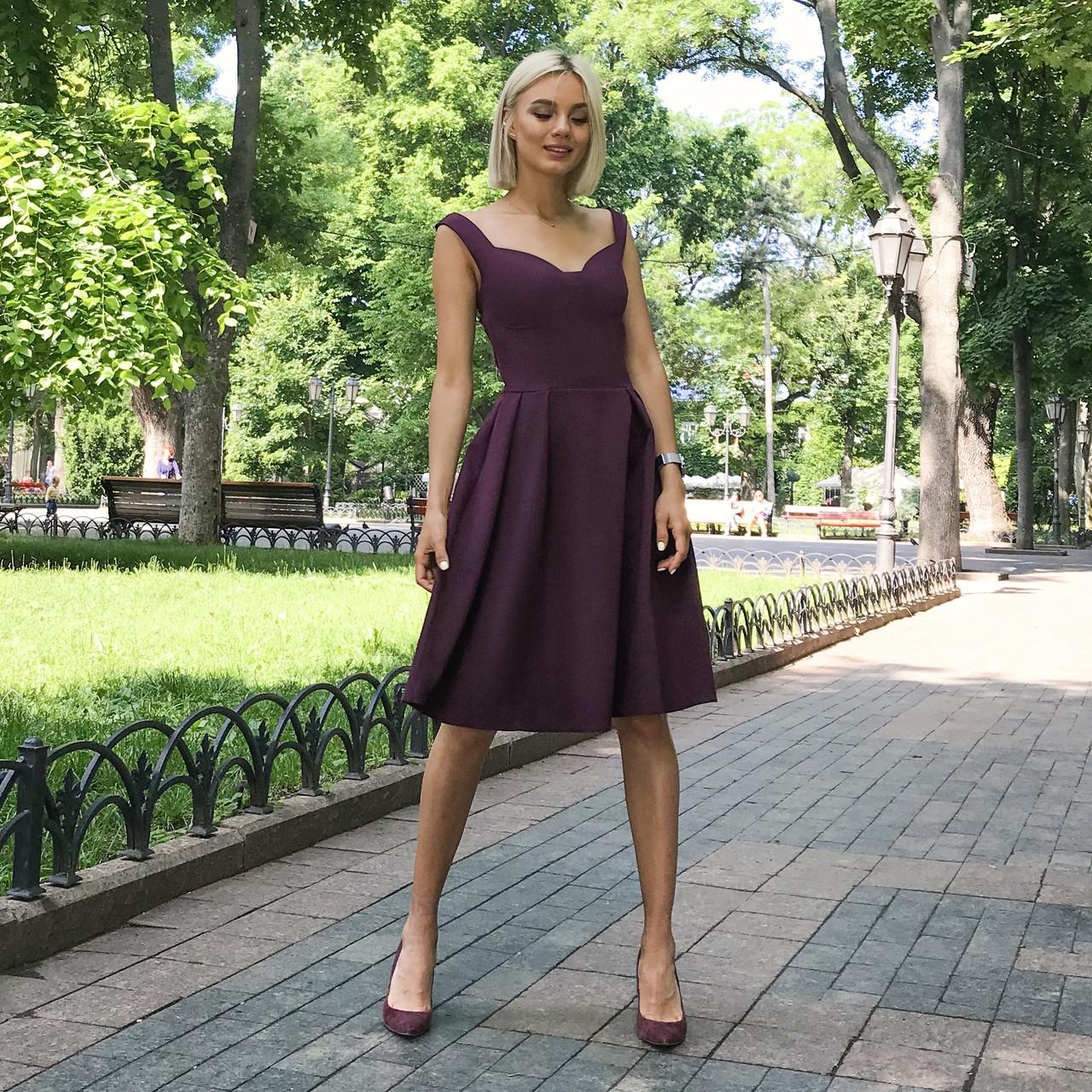 Платье Долли марсала, арт.1013