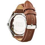 """Годинник """"Кавово-шоколадний мінімалізм"""" подарунок жінці, чоловікові, фото 3"""