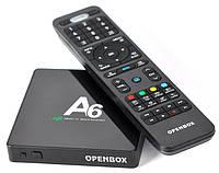 Openbox А6 4K IPTV Smart TV (смарт тв) Android приставка , фото 1