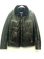 Пуховик мужской кожаный ., фото 1