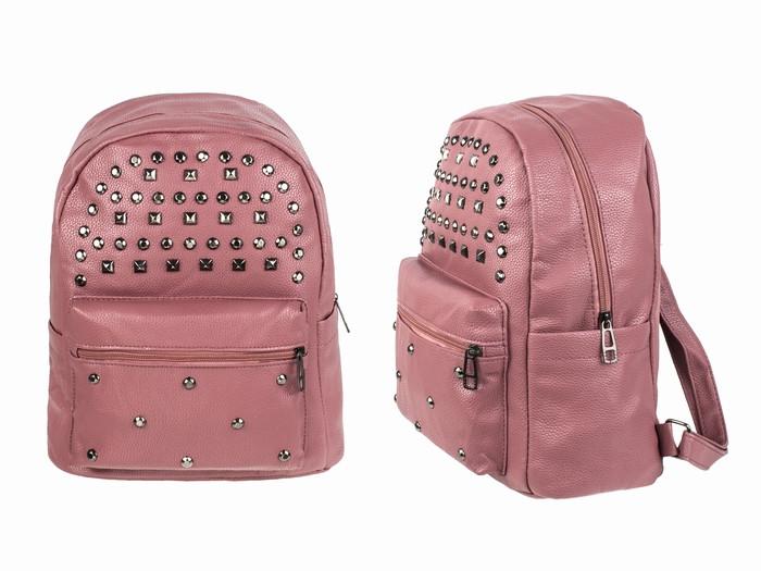 Рюкзак городской для девушки розовый