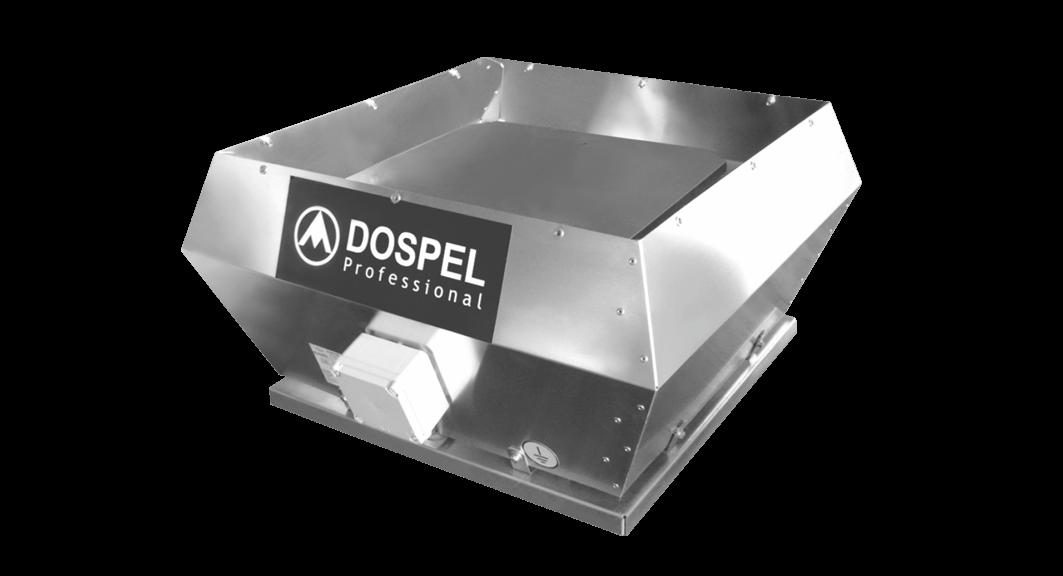 Крышный промышленный взрывозащищенный вентилятор DOSPEL WDEx