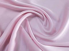 Шелк сатин, бледно-розовый