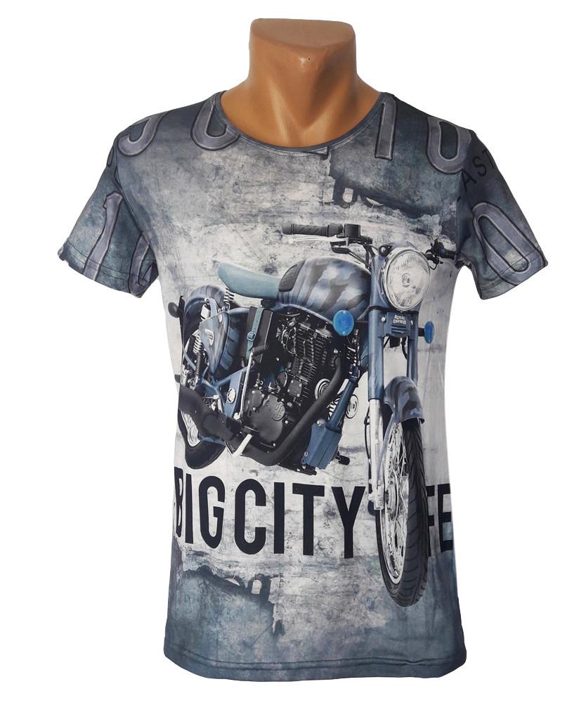Самые классные футболки Big City Life  - №4184