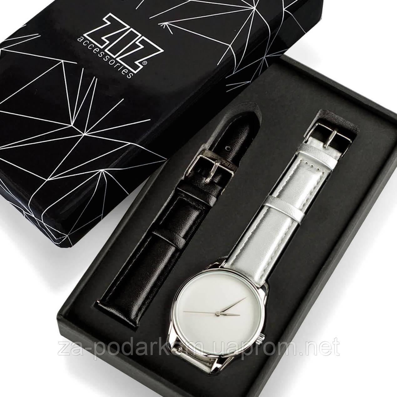 "Часы ""Металлик минимализм"" подарок женщине, мужчине"