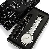 """Часы """"Металлик минимализм"""" подарок женщине, мужчине, фото 1"""