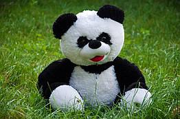 Мягкая игрушка Панда сидячая (черно-белая)