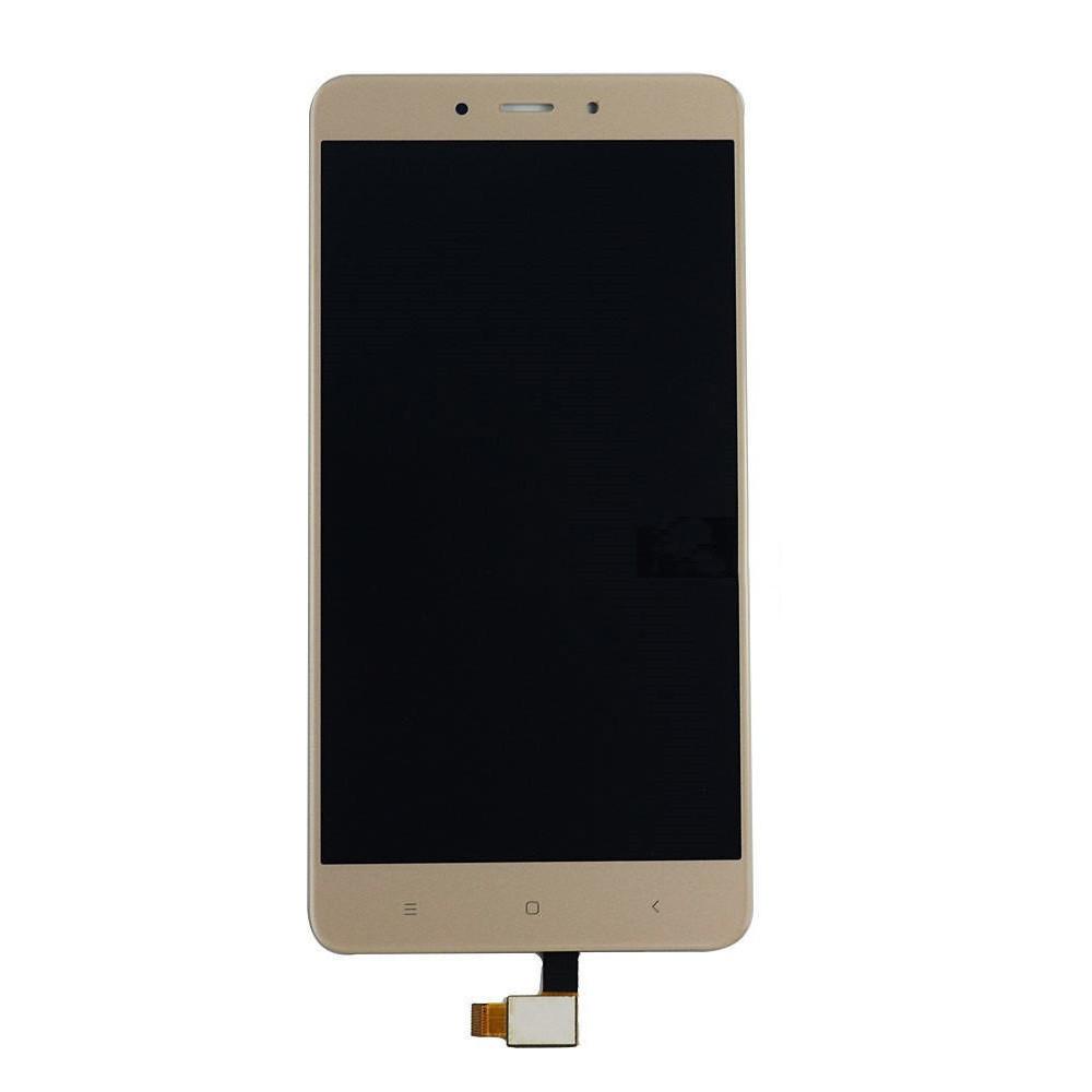 Дисплей  для Xiaomi  Redmi Note 4 с золотистым тачскрином