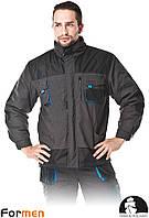 Куртка утепленная рабочая FORMEN синяя Lebber&Hollman Польша (зимняя спецодежда) LH-FMNW-J, фото 1