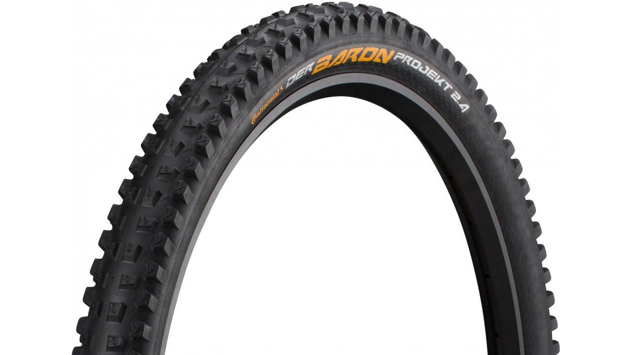 "Покрышка Continental Baron Projekt ProTection 29"" x 2.4 Black Chili TR folding"