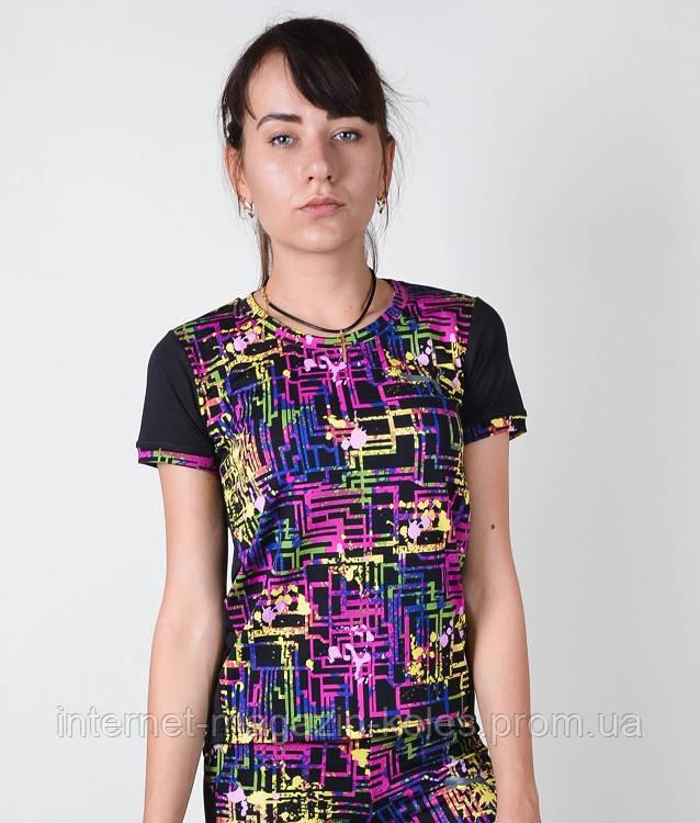 Спортивная женская футболка, фото 2