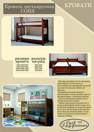 """2-х ярусная кровать """"Соня"""" 900х2000, фото 2"""