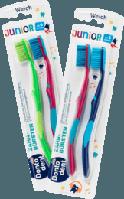 Дитячі зубні щітки Dontodent Junior (після 6 ) в асортименті, фото 1