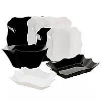 Сервиз Authentic Black&White 19 предметов Luminarc E6195