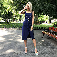Платье-сарафан синее, арт.1014, фото 1