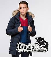Подросток 13-17 лет |  Зимняя куртка Braggart Teenager 25250 синяя