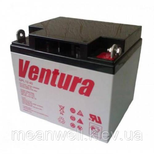 Аккумуляторная батарея Ventura GPL 12-40 12в, 40Ач (AGM)