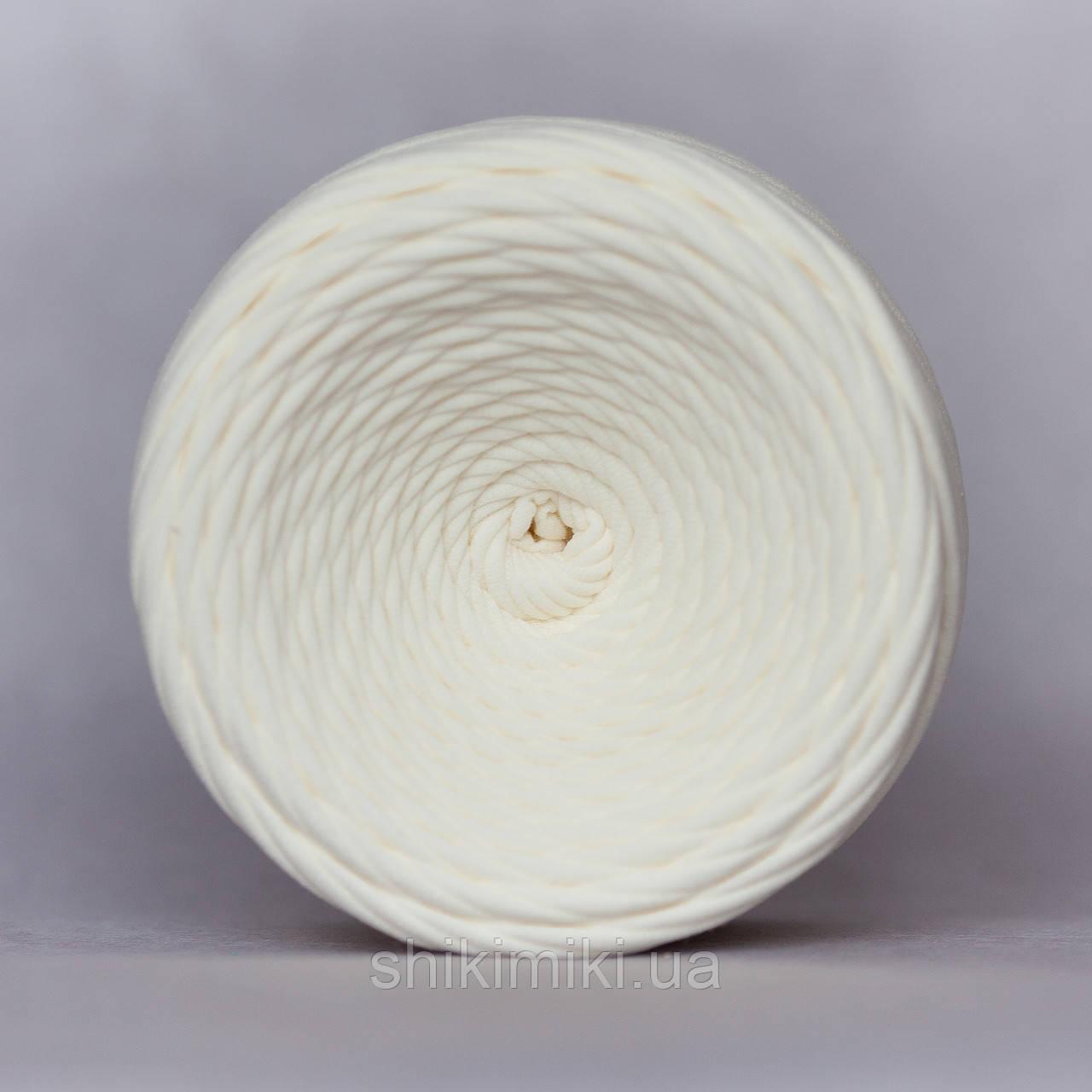 Трикотажная пряжа (50 м), цвет Кремовый