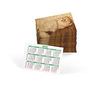 Изготовление и печать карманных календарей (оперативно/любые тиражи/250 гр/м2/4 дня), фото 3