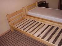 Кровать с ортопедическим матрасом за 1000 грн.