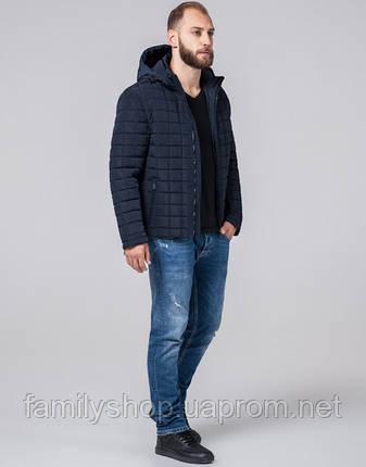 Braggart Evolution 2475   Мужская куртка с искусственным мехом синяя, фото 2