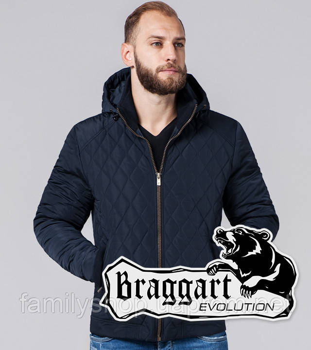 Braggart Evolution 2686 | Куртка мужская стеганая синяя