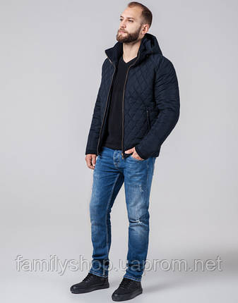 Braggart Evolution 2686 | Куртка мужская стеганая синяя, фото 2