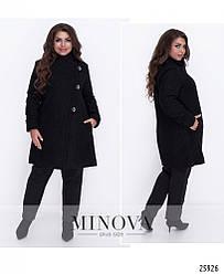 Пальто женское букле Большого размера (50-62)