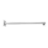 Душевой излив Invena с настенным креплением, прямой 40 см, фото 1