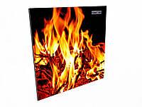 Керамический энергосберегающий обогреватель Камин 475С easy heat цветной