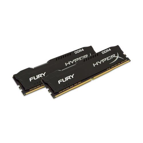 Оперативная память Kingston DDR4 16GB (2x8GB) 3466MHz HyperX Fury Black (HX434C19FB2K2/16)