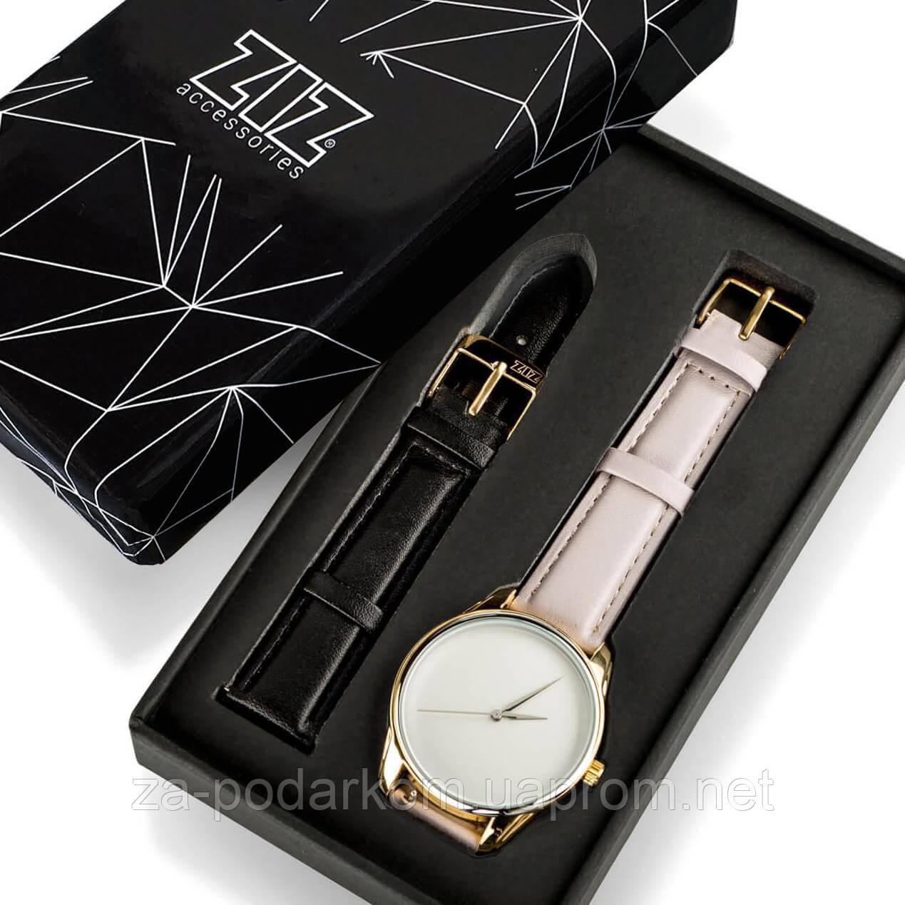 """Годинник """"Світло-лавандовий мінімалізм"""" подарунок жінці"""