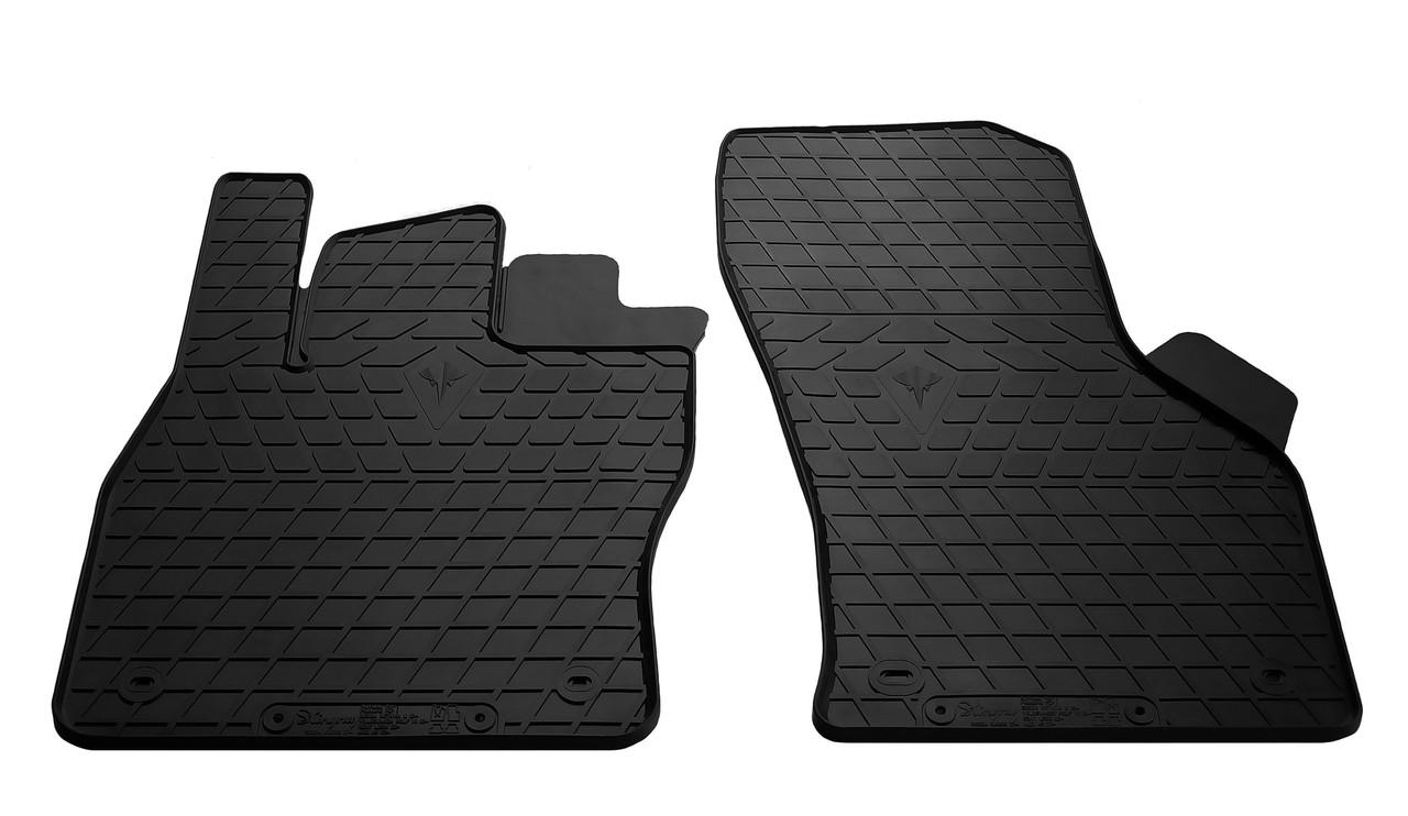 Коврики в салон резиновые передние для Audi A3 2012-2016 Stingray (2шт)