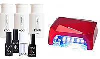 """Стартовый набор для гель-лака Kodi с лампой """"Diamond"""""""