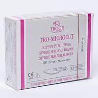 Лезвия хирургические стерильные одноразовые Troge (100 шт/уп)