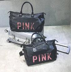Спортивная сумка Victoria`s Secret Pink с отсеком для обуви , фото 2