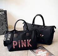 Спортивная сумка Victoria`s Secret Pink с отсеком для обуви