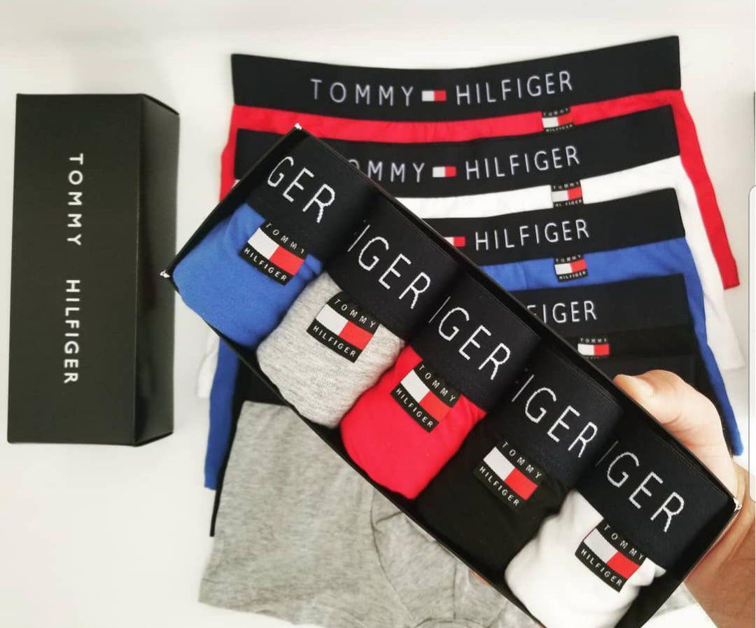 Фирменный Набор Мужских Трусов Tommy Hilfiger 5 шт + подарочная упаковка -  Интернет магазин iVico Shop 1cce06b670d63