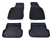 Коврики в салон для Audi A4 (B6,8E/B7,8E) (01-07) (полиур., компл - 4шт) NPL-Po-05-30, фото 1