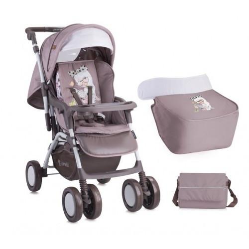 b61fbc1560bd Детская прогулочная коляска Bertoni Combi - двухсторонний матрасик, сумка  для мамы