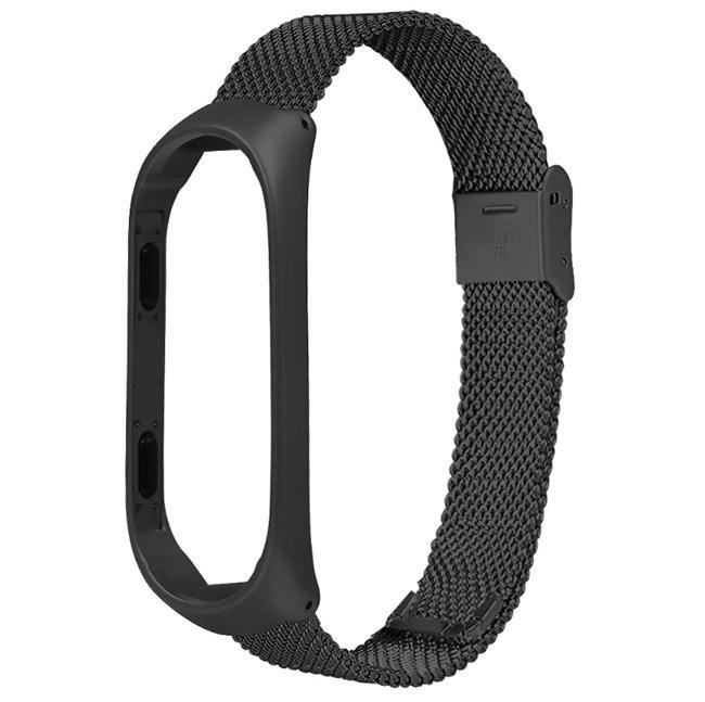 Металлический ремешок Primo Style для фитнес-браслета Xiaomi Mi Band 3 - Black
